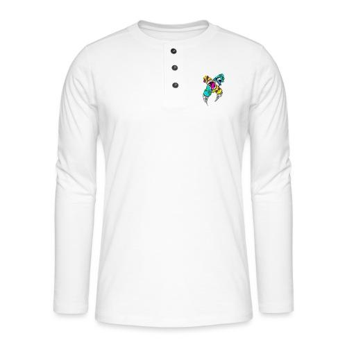 Skate - Henley langermet T-skjorte