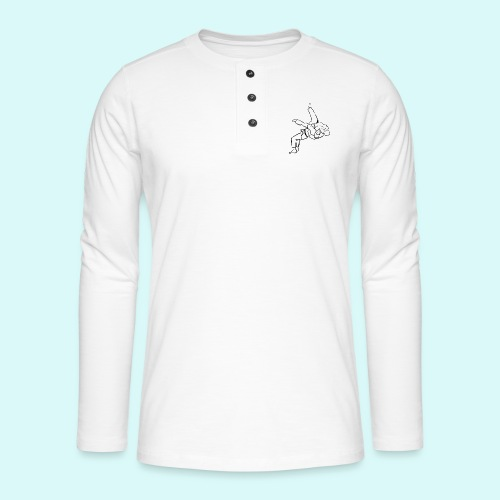 judo - T-shirt manches longues Henley