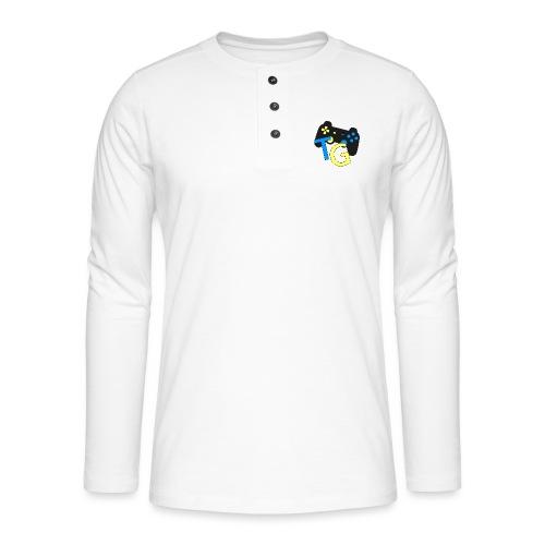 logoTG - Koszulka henley z długim rękawem