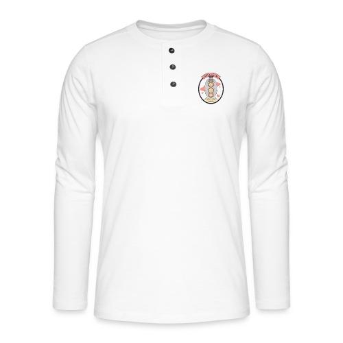 Sand Clam Clan -logokassi - Henley pitkähihainen paita