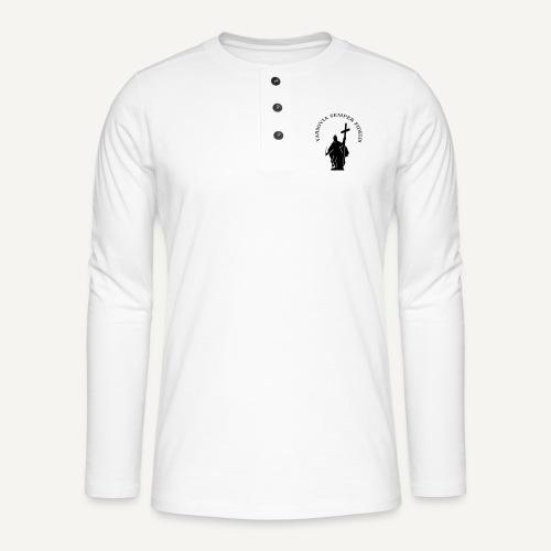 varsoviasf - Koszulka henley z długim rękawem