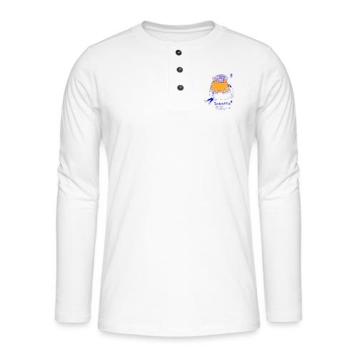 Sapatão - Camiseta panadera de manga larga Henley