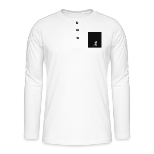 Moon! - Henley long-sleeved shirt