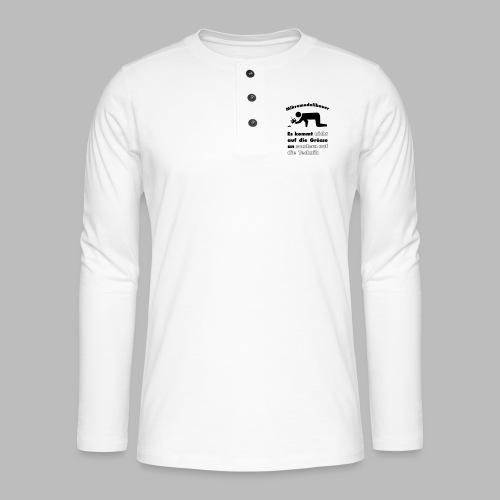 Mikromodellbau Weisheit - Henley Langarmshirt