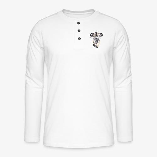 Seek Destroy - Shirts - T-shirt manches longues Henley