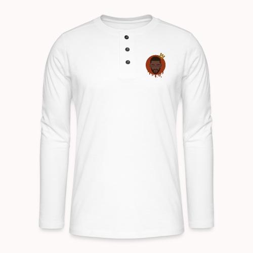 Black King - Henley shirt met lange mouwen