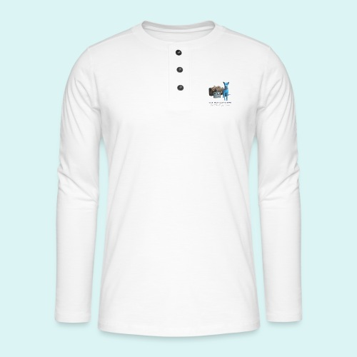 Laly Blue Big - Henley long-sleeved shirt