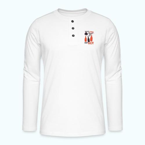 beer - Henley long-sleeved shirt