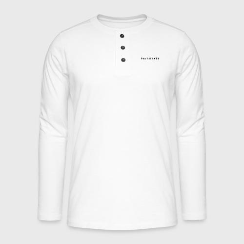 Backwards - Henley shirt met lange mouwen
