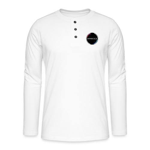 NHECCZ Logo Collection - Henley long-sleeved shirt