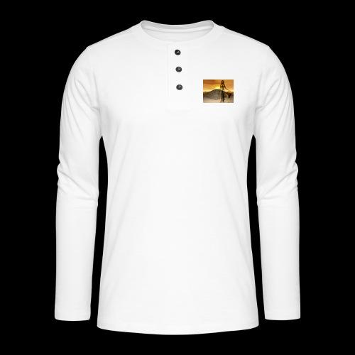 FANTASY 1 - Henley Langarmshirt