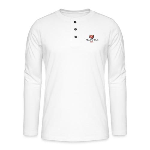 PlayForClub HD - T-shirt manches longues Henley