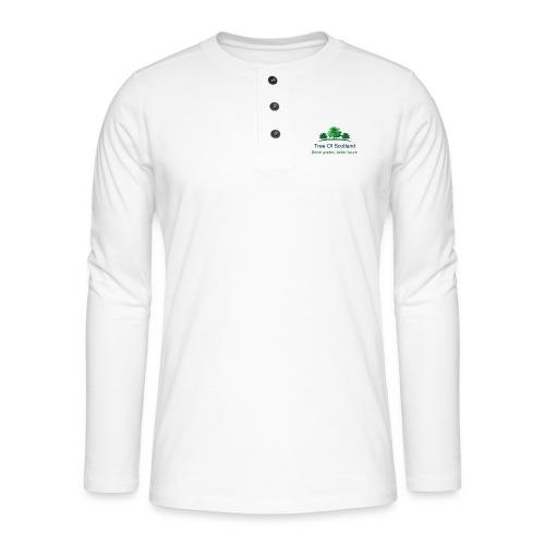 TOS logo shirt - Henley long-sleeved shirt
