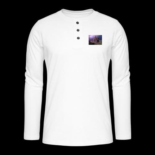 FANTASY 4 - Henley Langarmshirt