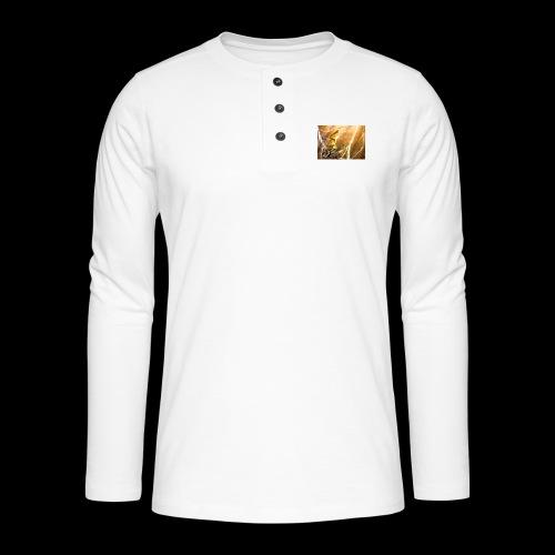 FANTASY 5 - Henley Langarmshirt