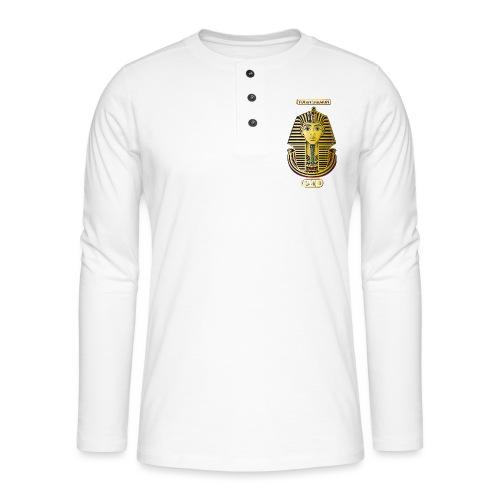 Tutanchamun I Goldmaske I Ägypten - Henley Langarmshirt