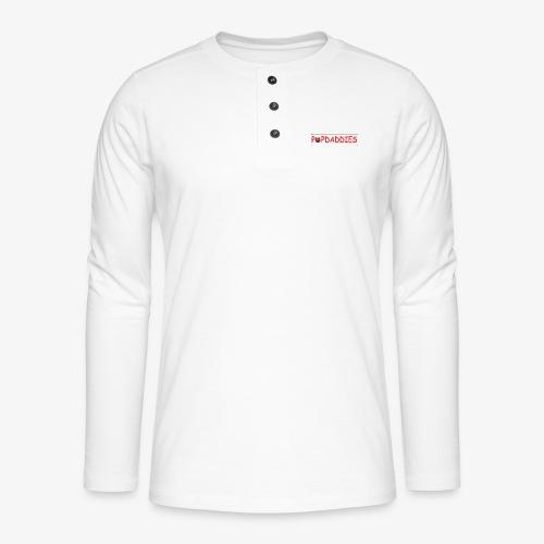 popdaddies - Henley shirt met lange mouwen