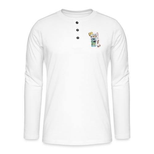 Du Rhum et des Licornes ! - T-shirt manches longues Henley