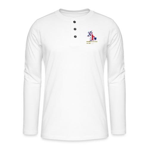 UK MERCH - Henley long-sleeved shirt