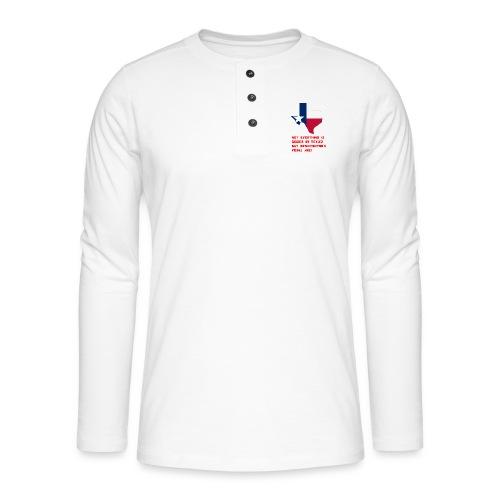 TEXAS MERCH - Henley long-sleeved shirt