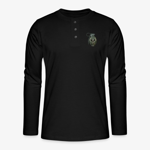 grenadearma3 png - Henley long-sleeved shirt