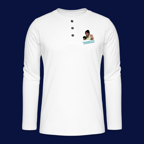 Your Favourite Beanie Man - Henley long-sleeved shirt