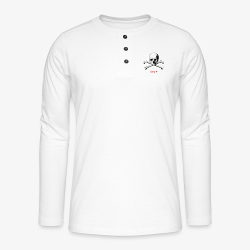 MORT - T-shirt manches longues Henley