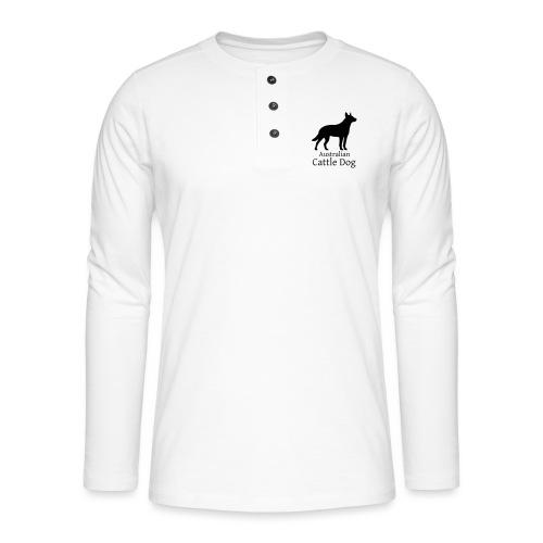 Australian Cattle Dog - Henley Langarmshirt