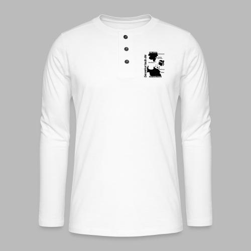 Korsika Sardinien Mori Shirt - Henley Langarmshirt