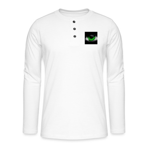 Green eye - Henley long-sleeved shirt