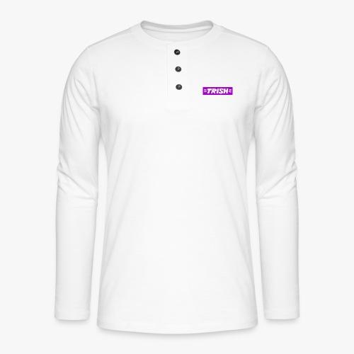 Trish Thunderstone Logo - Henley long-sleeved shirt