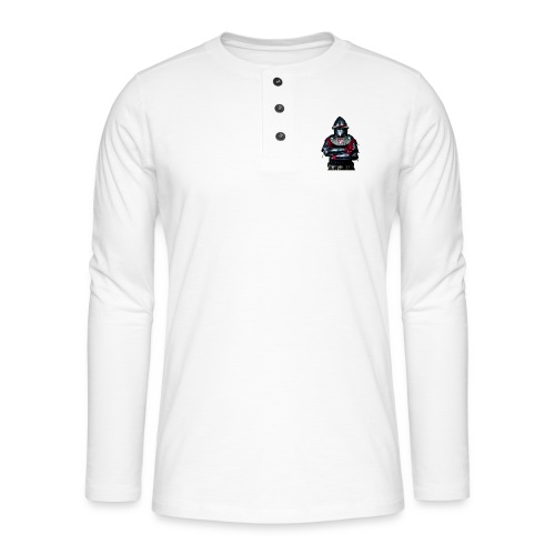 chevalier.png - T-shirt manches longues Henley