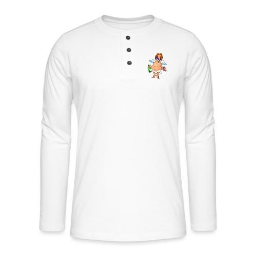 Angel - Henley long-sleeved shirt