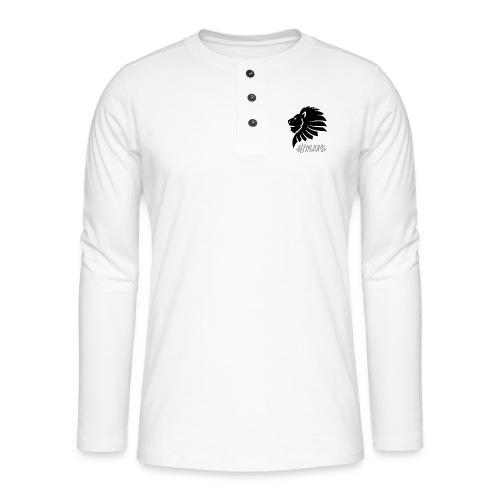 Gymlions T-Shirt - Henley Langarmshirt