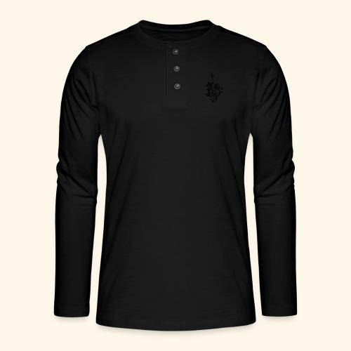 la nature du coeur - T-shirt manches longues Henley