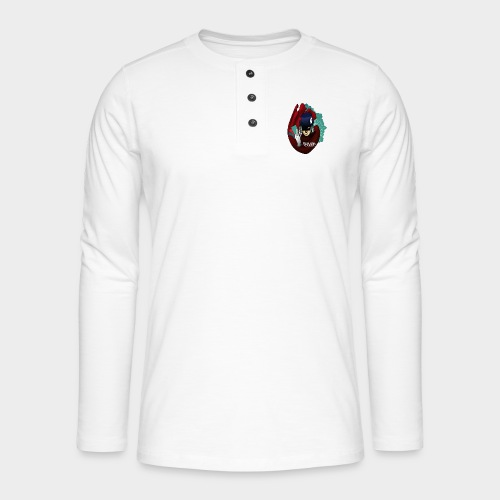 Fighting cards - Magicien - T-shirt manches longues Henley