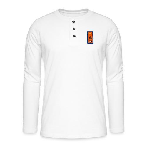 Samisk motiv - Henley langermet T-skjorte