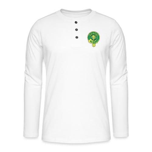 pride of lions logo - Henley Langarmshirt