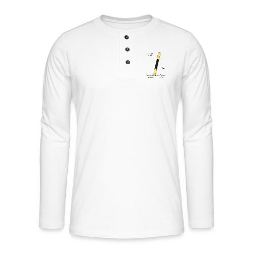 FP25 LÄNSIVIITTA Merimerkit funprint24 net - Henley pitkähihainen paita