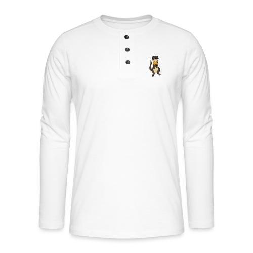 fretka Hypsed - Koszulka henley z długim rękawem