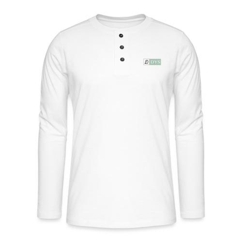 DYSI - Camiseta panadera de manga larga Henley