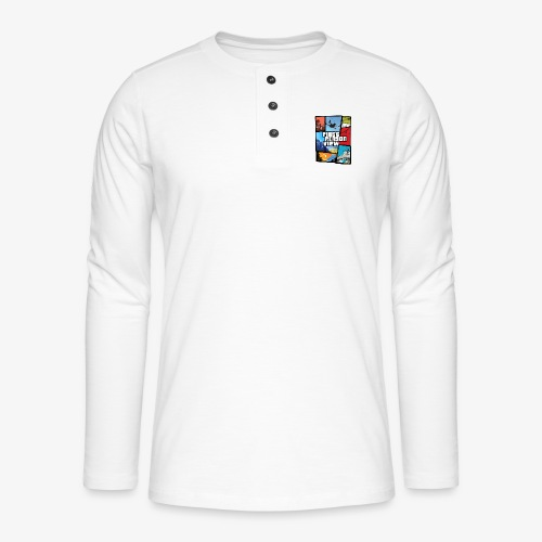 Ultimate Video Game - Henley long-sleeved shirt