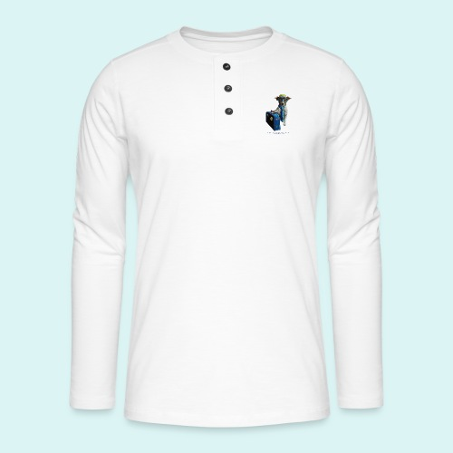 The Traveling Dog - Henley long-sleeved shirt