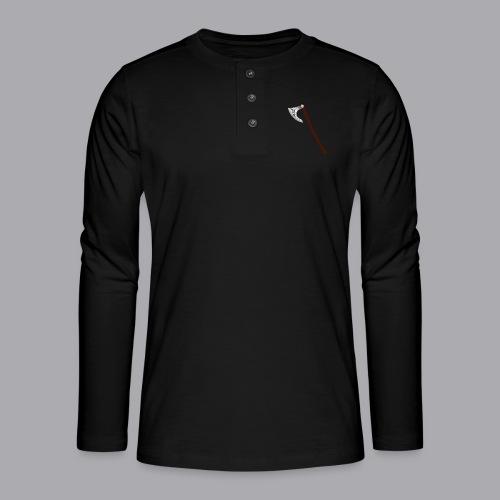 Wikinger Beil - Henley Langarmshirt