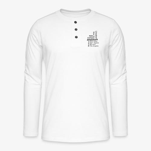 city_color - Henley Langarmshirt