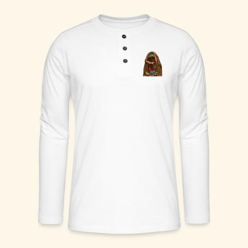 Femme bijou voile - T-shirt manches longues Henley