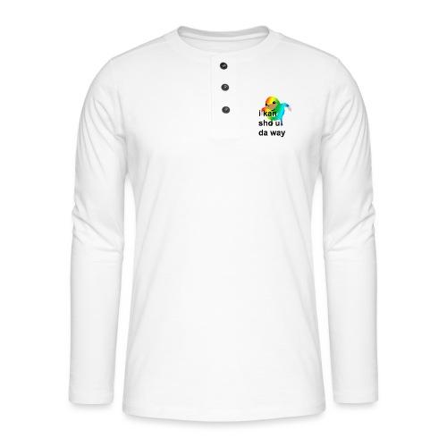 uganda - Henley pitkähihainen paita