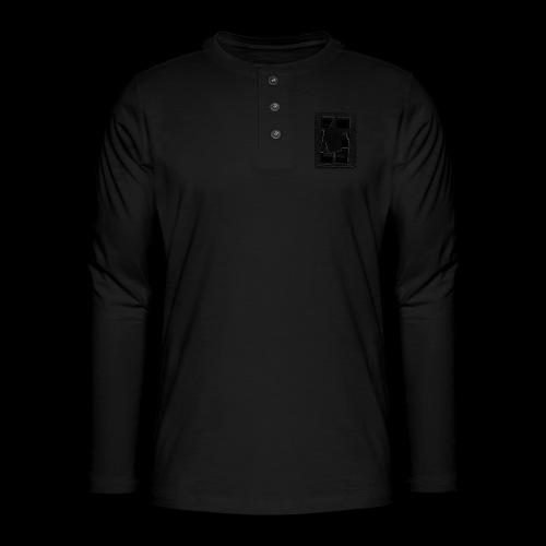 Dark Negative - Henley long-sleeved shirt