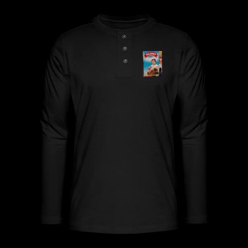 Babushka's fines - Henley long-sleeved shirt