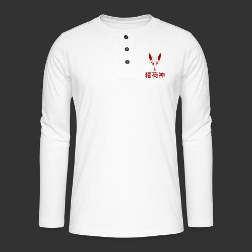 Inari Fox (稲荷神) - T-shirt manches longues Henley